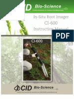 CI-600 Operation Manual