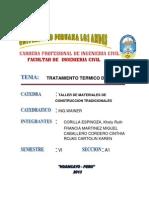 Tratamiento Termico -Monografia Upla