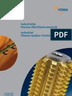 Vdma Oberflaechentechnik Industrielle Plasma Oberflaechentechnik Broschuere 2007