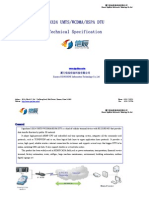 S3324 UMTS&WCDMA&HSPA DTU Technical Specification