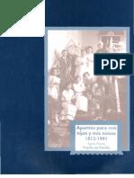 Apuntes Para Mis Hijos y Mis Nietos 1812-1991_papeles de Familia