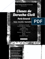 Clases de Derecho Civil - Parte General - Maria Virginia Bertoldi de Fourcade