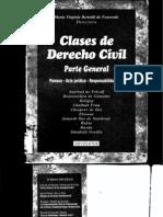 Clases de Derecho Civil - Parte General - Maria Virginia Bertoldi de Fourcade