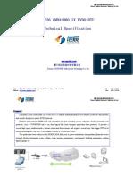 S3326 CDMA2000 1X EVDO DTU Technical Specification