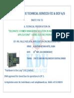 KDU DM 4 Invitation 29-05-2013