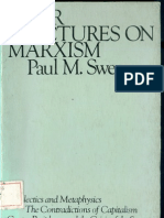 Four Lectures on Marxism Paul M. Sweezy