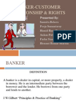 Banker and Customer Ppt