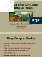 Sampling Testing Methods for Compost