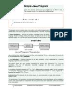 Simple Java Program