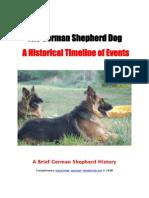 German Shepherd Timeline