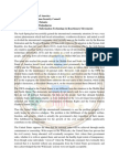 Position Paper - United States of America