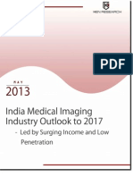 India Medical Imaging Market Outlook to 2017_Sample Report