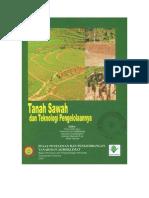 Tanah Sawah dan Teknologi Pengelolaanya