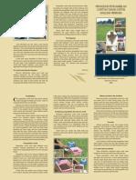 Prosedur pengambilan contoh tanah untuk analisis mikroba tanah