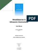 WindObserverII Manual Issue 19