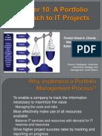 A Portfolio Approach in IT