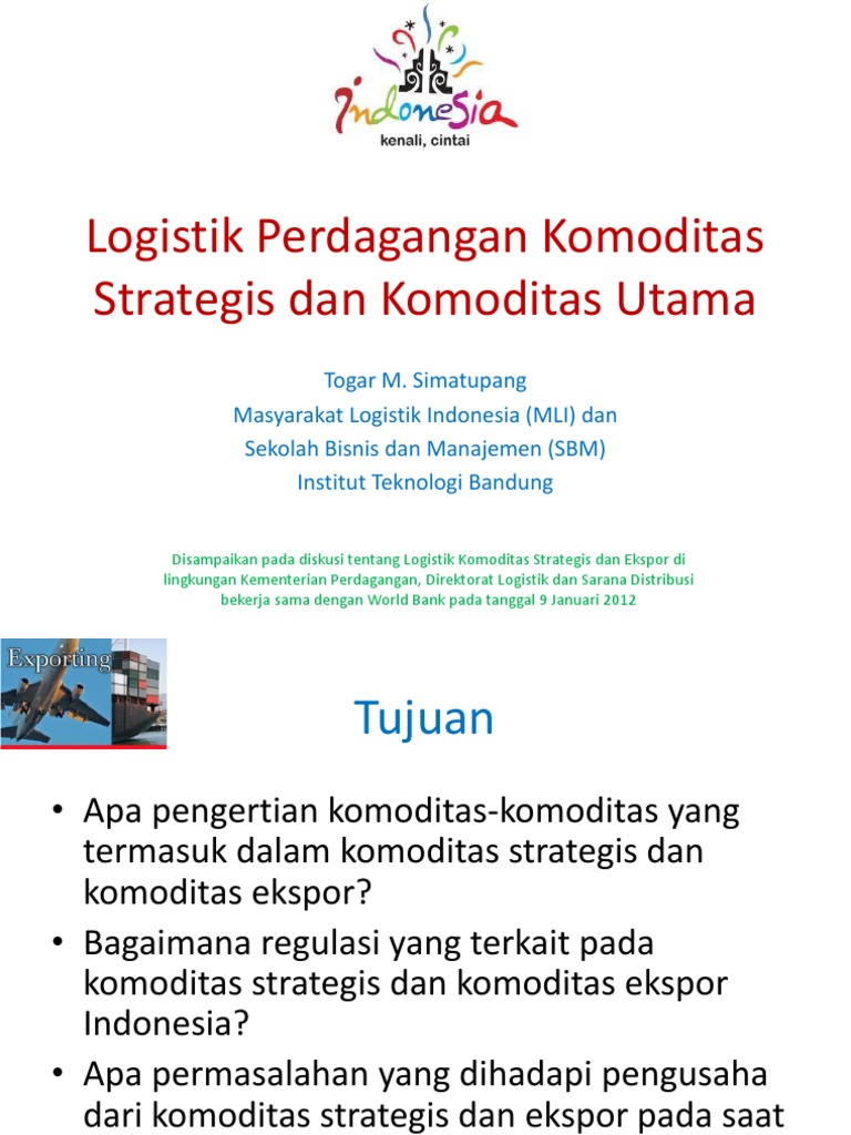Kementan Bikin 6 Strategi Perkuat Ekspor Perkebunan saat Pandemi