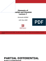 Elements of Matlab Simulink