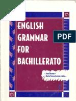 English Grammar for Bachillerato
