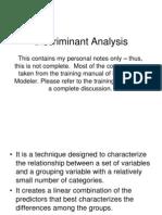 MELJUN CORTES IBM SPSS Discriminant Analysis