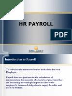 HR Payroll ppt