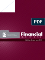 Financial Stability Report Mid Year June 2012