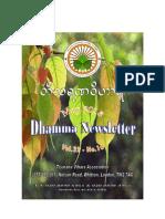 Newsletter May 2013 (Tisarana Vihara Association)