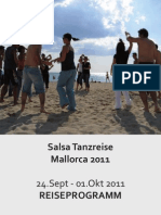 Reiseprogramm September 2011