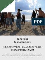 Reiseprogramm September 2012