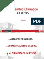 Cambio Climatico Peru
