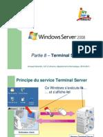 Partie 8 – Terminal Server