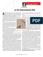 The Case for International Aid