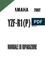 Yamaha YZF-R1 2002-2003 Manuale d'Officina (ITA)