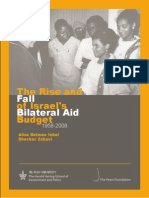 The Rise and Fall of Israel's Bilateral Aid Budget - 1958-2008