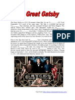 Open Cloze_The Great Gatsby