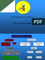 Experimental Design RCT