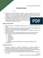Regulatory Affairsra