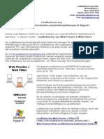 Warum Load Balancer Und Web Proxies Bzw Web Filter Sehr Gut Zusammenpassen