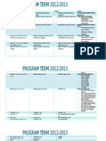 PROGRAM TERM TK B 2012-2013