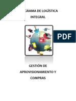 B.- GESTIÓN DE APROVISIONAMIENTO Y VENTAS