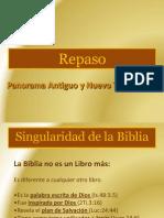 Repaso Panorama Del Antiguo y Nuevo Testamento (1)