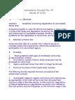 MC 7-Guidelines Concerning Registration of Land-Based Name Hires