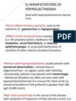 CLINICAL MANIFESTATIONS OF HYPERPROLACTINEMIA1BODY