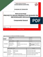 Programa Proyecto Socioproductivo CORREGIDO