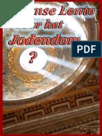 Roomse Lente voor Jodendom? – Hubert_Luns
