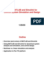 Using MATLAB and Simulink For