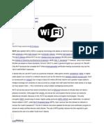 WIFI - wiki