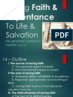 1689 Chapter 15, Of Repentance unto Life and Salvation