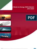 The Waste-To-Energy (WtE) Market 2013-2023