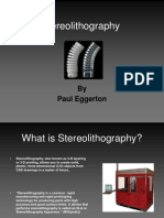 Stereo Lithography